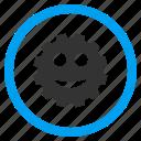 fun smile, happy, joy smiley, ok, positive emotion, satisfaction, sweet face icon
