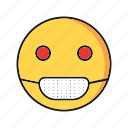 emoji, emoticon, sick, smile icon