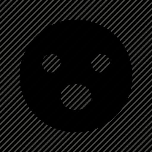 emoji, emoticon, shouting, smile icon
