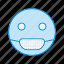 emoji, emoticon, sick