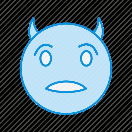 devil, emoji, emoticon icon
