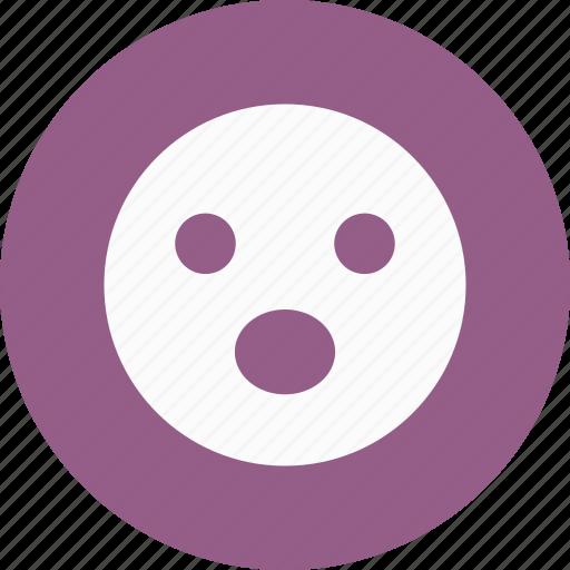 emoji, emoticon, shouting icon