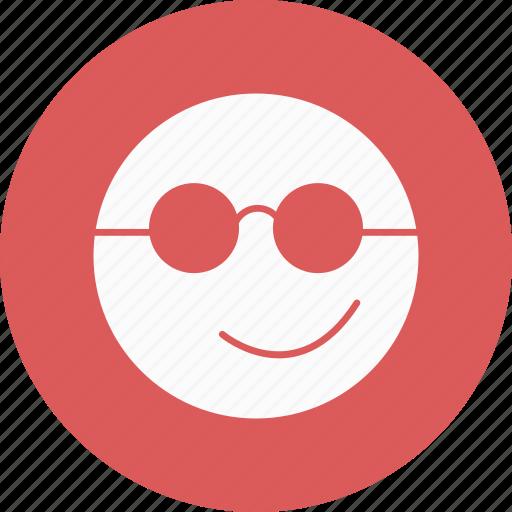Emoticon, cool, emoji icon