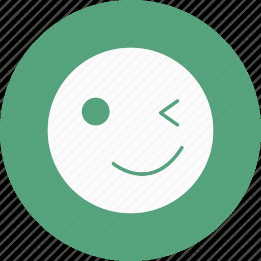 Emoticon, smile, emoji icon