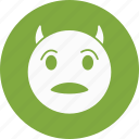 devil, emoji, emoticon icon