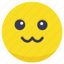 cute, emoji, happy, joy, smile