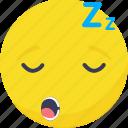 .svg, emoji, emoticon, expressions, sleep, smiley icon