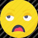 .svg, emoji, emoticon, expressions, sick, smiley