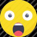 .svg, emoji, emoticon, expressions, shocked, smiley