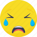 crying, expressions, .svg, emoji, smiley, emoticon