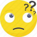 .svg, emoji, emoticon, expressions, in, mind, question icon