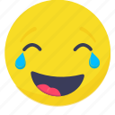 weeping, expressions, .svg, emoji, smiley, emoticon, happy