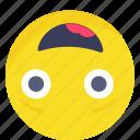 amazing, smiley, emoji, happy, emoticon, expressions icon