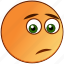 depressed, dissapointed, emoticon, emotion, sad, smiley, unhappy icon