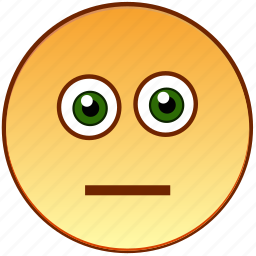 emoticon, emotionless, neutral, person, pokerface, smile, smiley icon