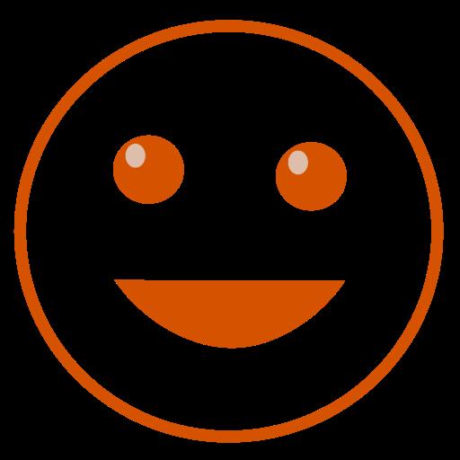 happy, laugh, smile icon