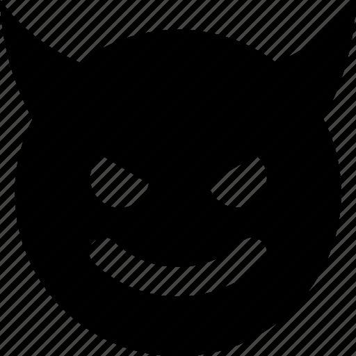 devil, evil icon