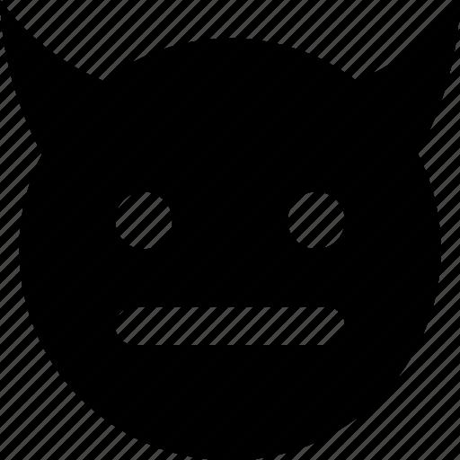 devil, meh icon