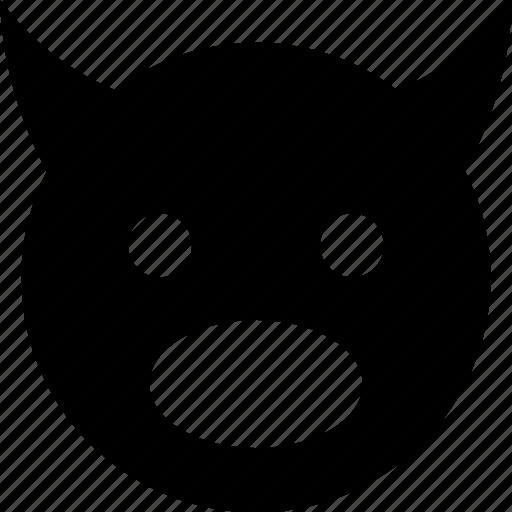 devil, surprised icon