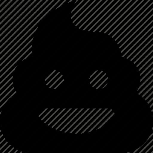 happy, poop icon