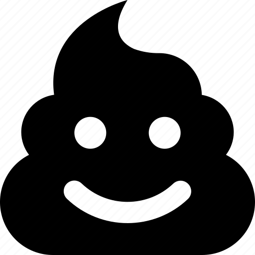 poop, smile icon