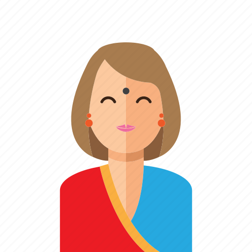 Hindu, lady, woman icon - Download on Iconfinder