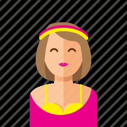 lady, woman icon