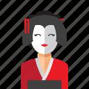 woman, japanese