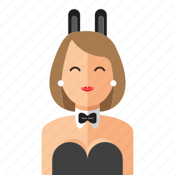 lady, playboy, sexy, woman icon