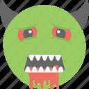 comic, dracula, gothic, monster, vampire emoji icon
