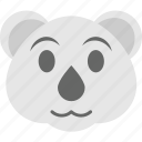 bear emoji, bear face, emoji, panda, teddy icon