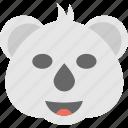 animal, bear emoji, bear face, emoji, emoticon icon