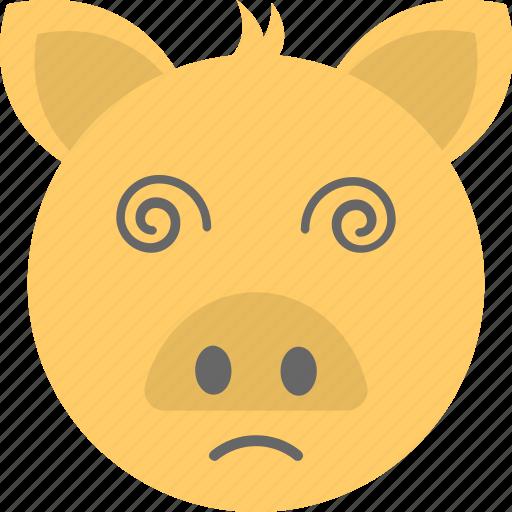 animal, emoticon, pig emoji, pig face, smiley icon