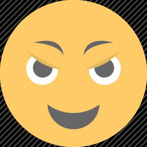 emoji, emoticon, jolly, naughty, smiley icon