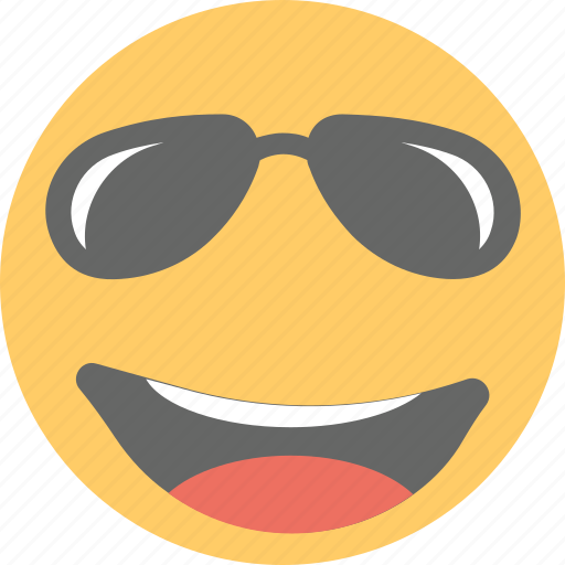 cool emoji emoji emoticon happy face sunglasses emoji icon