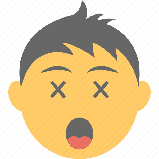 Boy emoji, confounded face, confused, scrunched eyes, smiley icon - Download on Iconfinder