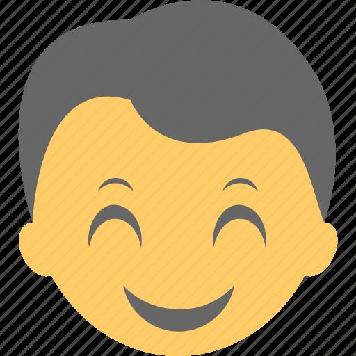 emoji, emoticon, happy, smiley, surprised icon