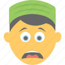 boy emoji, distraught face, exhausted, smiley, weary face icon