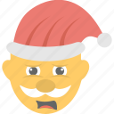christmas, emoji, father nicholas, santa claus, sinterklaas icon