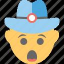 emoji, gasping face, gaze, shocked, surprised