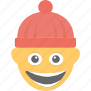 emoticon, grinning face, happy, joyful, smiley icon
