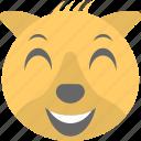 animal, emoticon, koala emoji, koala face, smiley icon