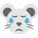 emoji, emoticon, hamster emoji, hamster face, smiley icon