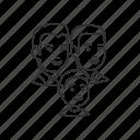 boy, child, family, group, kid, man, parents