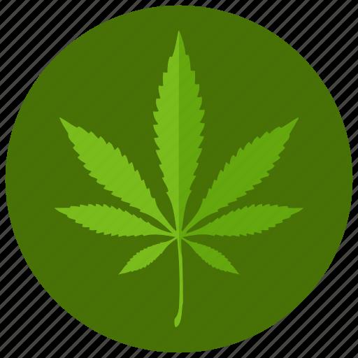 leaf, marijuana, sign, smoking icon