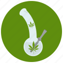 bong, marijuana, pipe, smoking icon