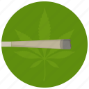 joint, leaf, marijuana, sign, smoking icon