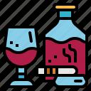 alcohol, beverage, cigar, drink, whiskey