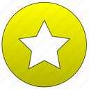 bookmark, favorite, star, rate icon