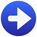forward, right, arrow, next icon